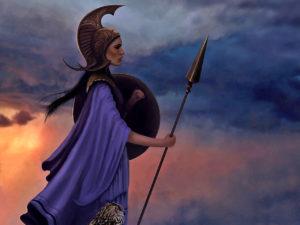 Афина в мифологии