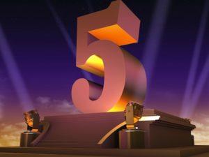 Значение 5 в судьбе или событии