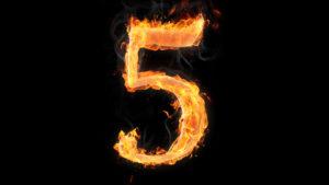 Место цифры 5 в нумерологии